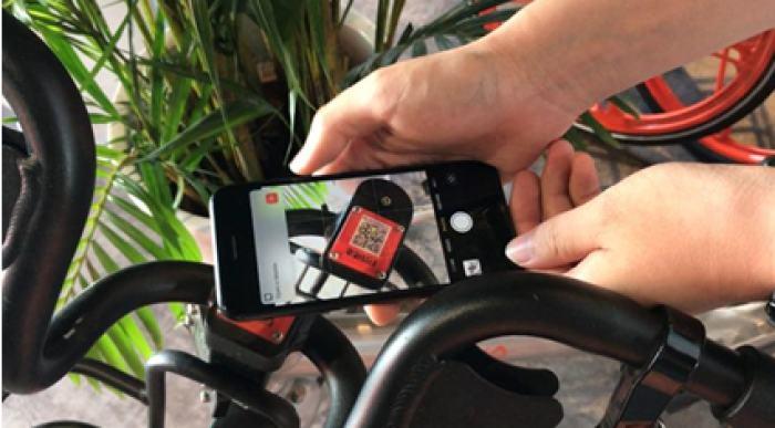 新iPhone直接用相机扫码即可解锁摩拜单车