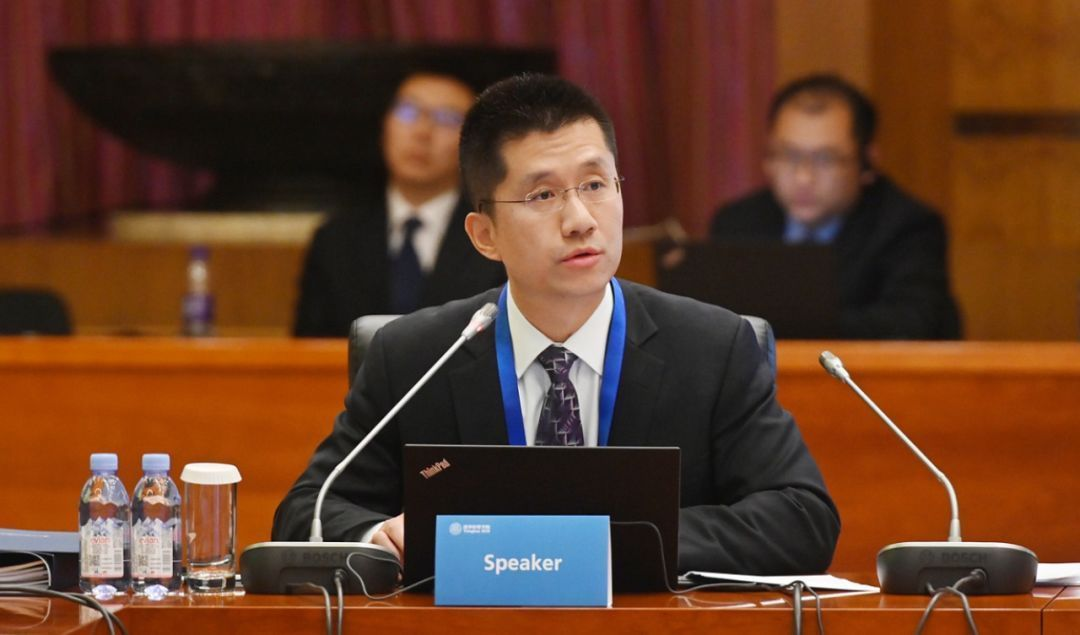 清华经管学院副院长徐心教授做报告