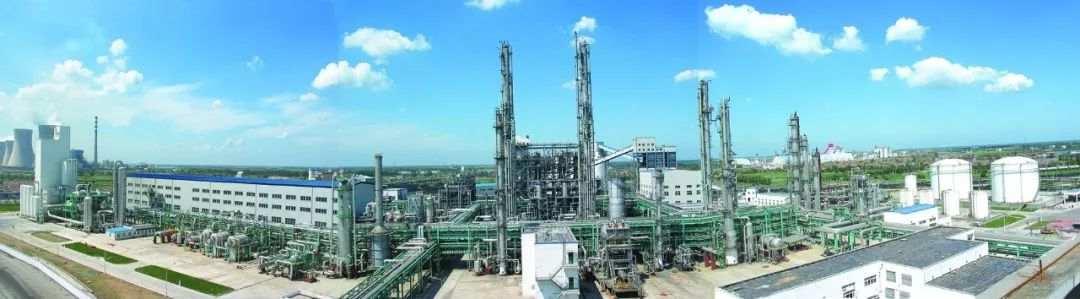 山东华鲁恒升氮肥国产化示范装置。