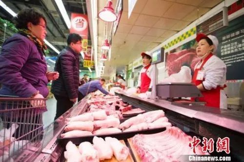 """「中国新闻网」猪肉为啥涨价?何时降价?6部委专门为""""二师兄""""开了场发布会"""