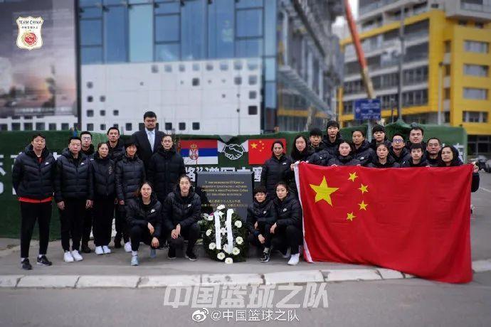 共青团中央■姚明有心了,在塞尔维亚和中国女篮一起参加了这个活动