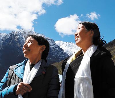 卓嘎、央宗姐妹:家是玉麦,国是中国(奋斗百年路 启航新征程·数风流人物)
