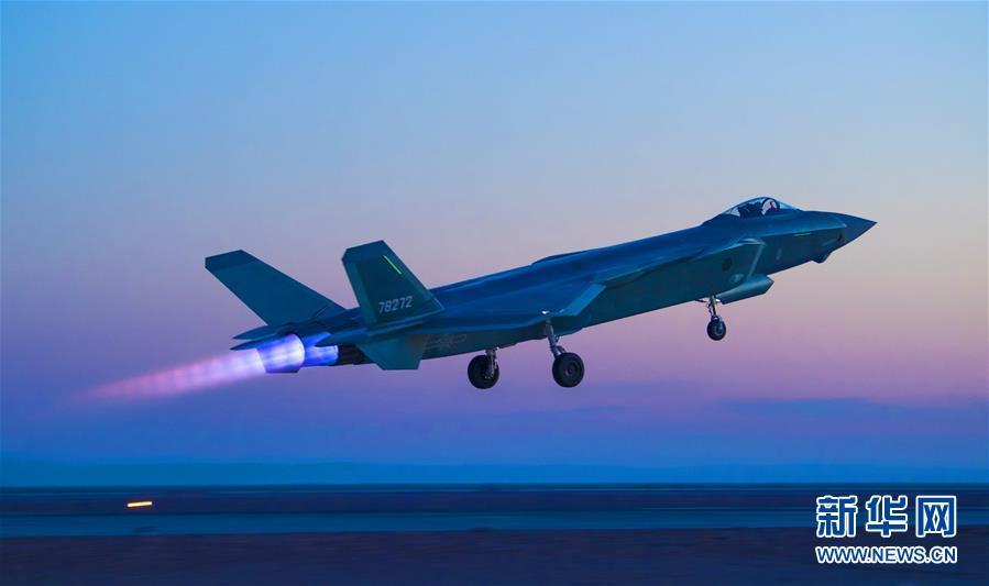 威武!空军首支歼20部队开展多型新机编队协同战术训练