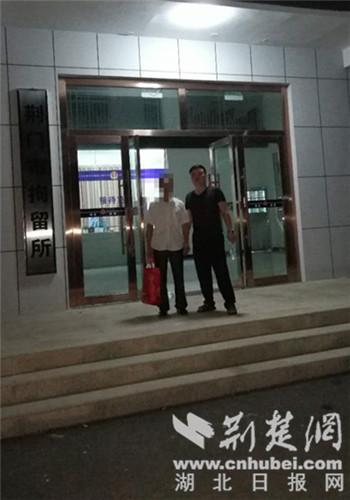 荆门一男子因阻碍执行职务被拘留