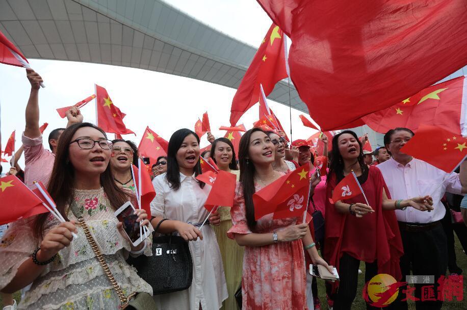 香港市民:爱國爱港的人不能再沉默!【人民日報】