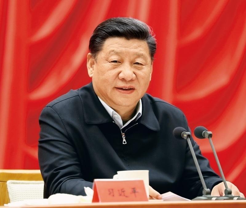 2018年1月5日,習近平在學習貫徹黨的十九大精神研討班開班式上發表重要講話。新華社記者 鞠鵬 攝