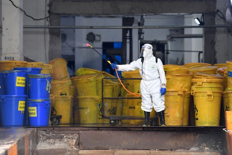生态环境部:武汉已连续一周实现医疗废物日产日清