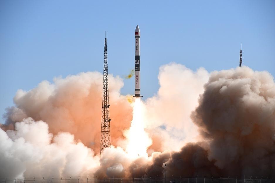一箭双星!快舟一号甲火箭成功发射行云二号卫星