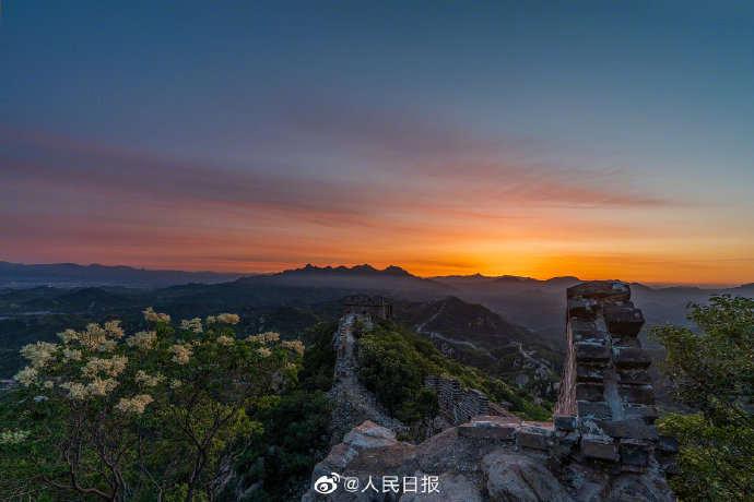 北京:中秋国庆可预约夜游八达岭长城-大河报网