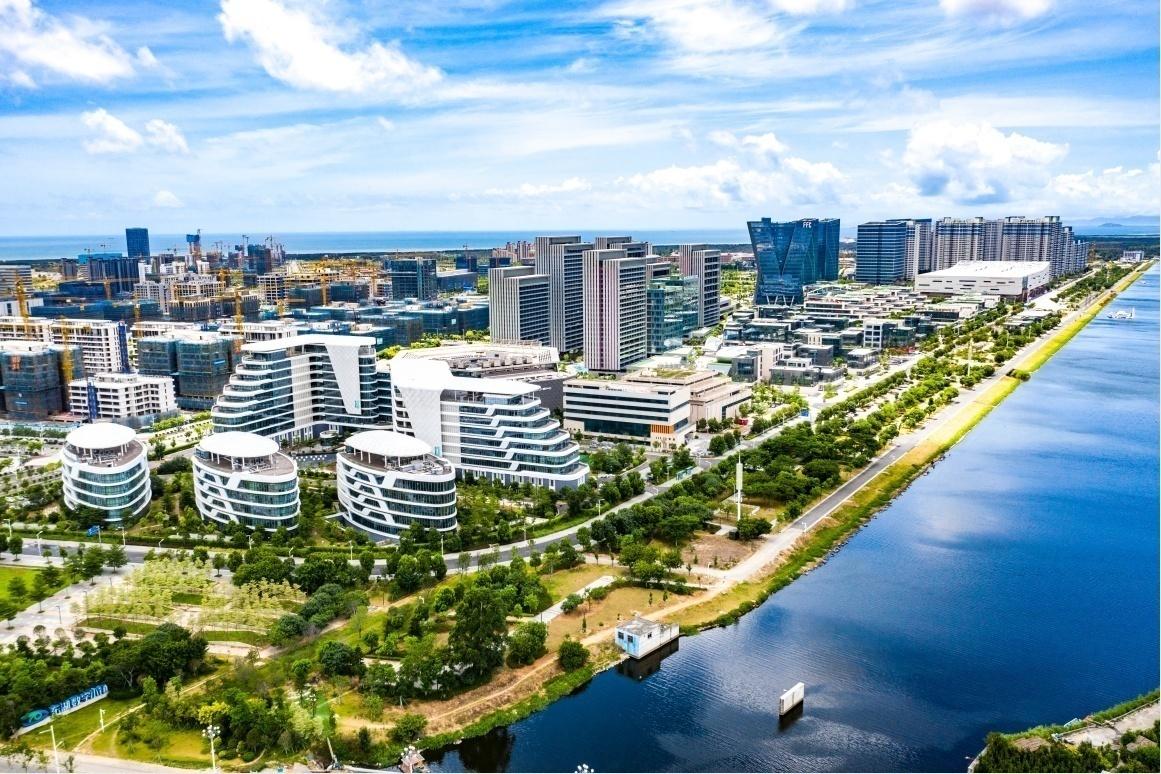 福州滨海新城:大东湖畔起新城 精彩蝶变绽缤纷