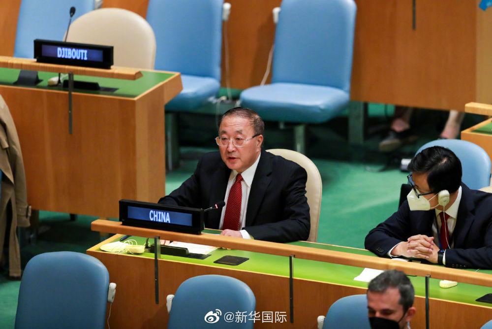 中国代表75国在联合国呼吁实现疫苗公平分配