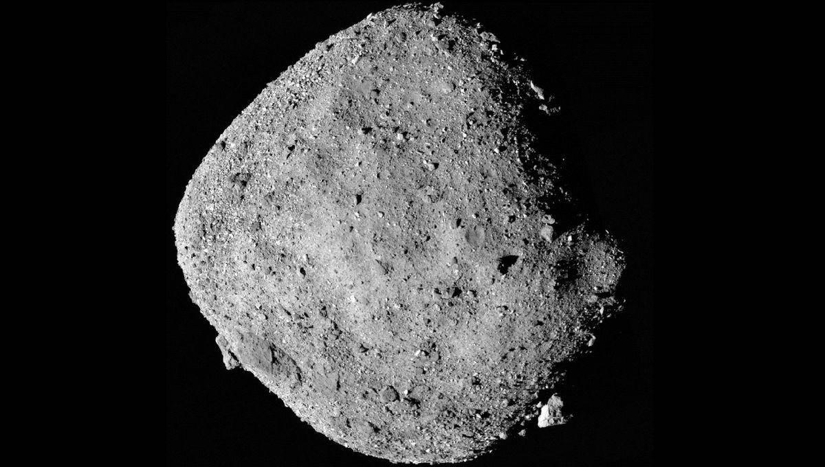 天文美图 | 碰触贝努小行星:电影