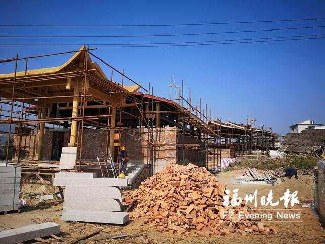 福清一都状元文化街区 主体工程春节前完工