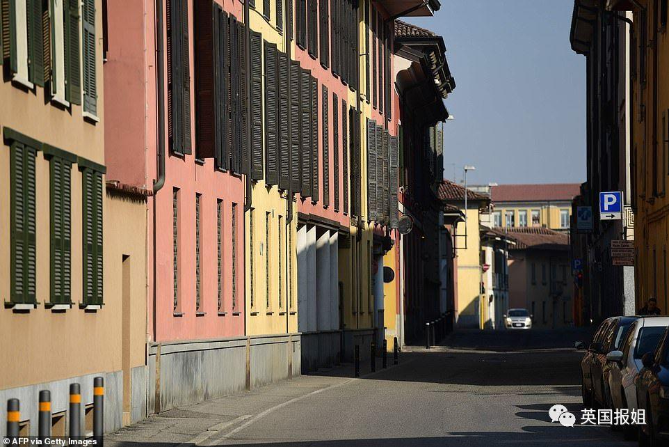 图:位于米兰南部的Codogno