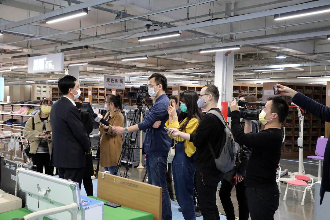 山東齊悅科技有限公司總裁接受媒體采訪