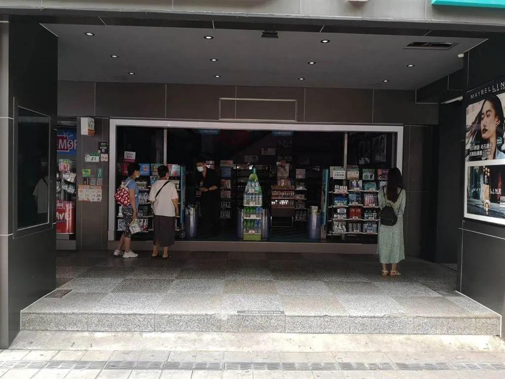 台北商户停电。图源:中时电子报