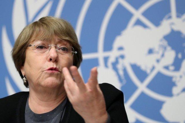 联合国人权事务高级专员米歇尔·巴切莱特