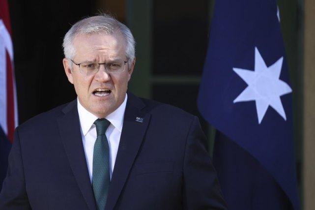 澳大利亚总理斯科特·莫里森 图源:外媒
